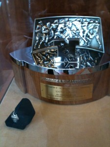 Trophy and Ring