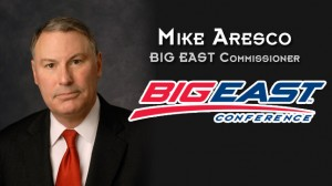 The new Big East Commissioner is Mike Aresco