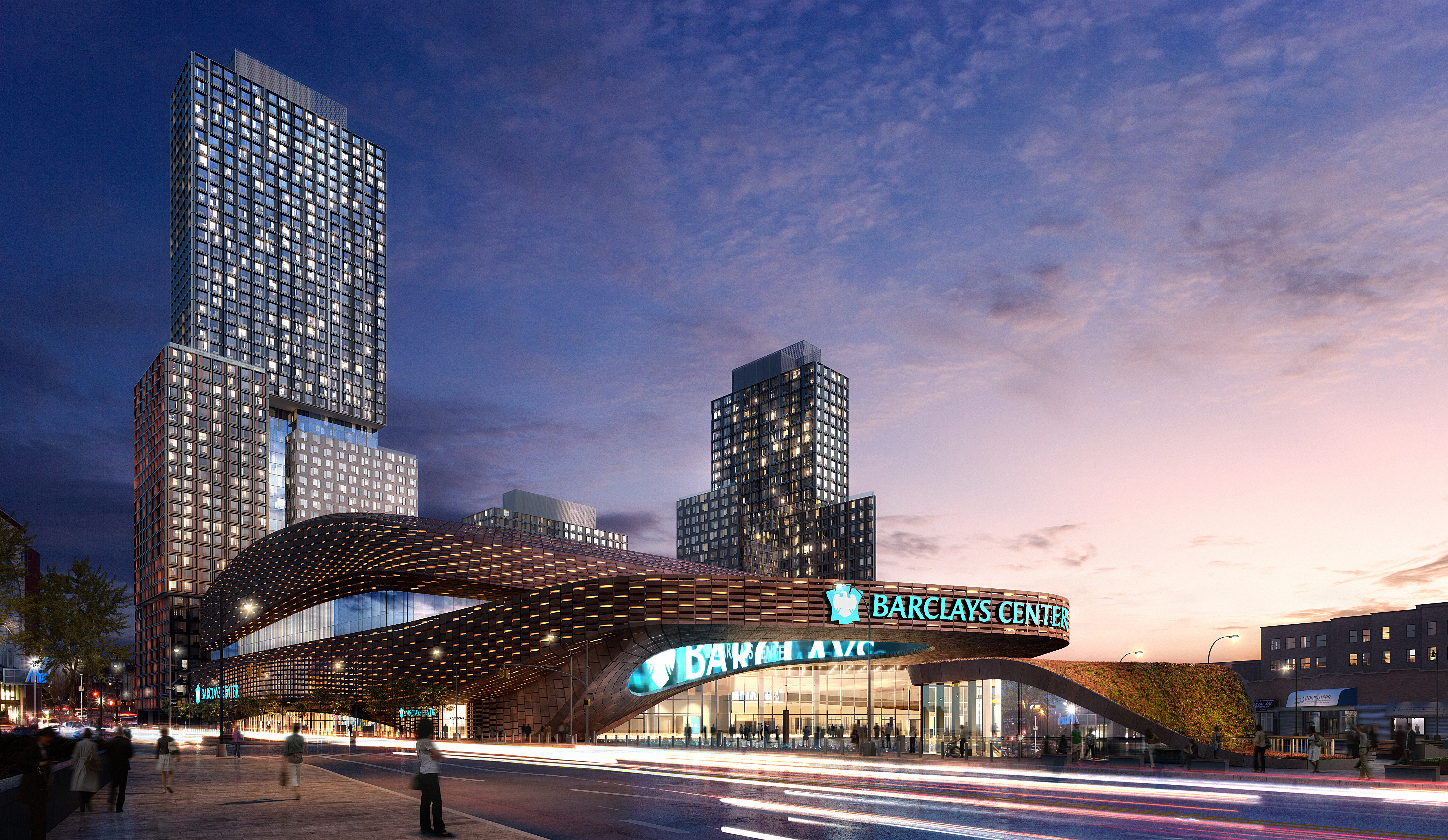 Barclays Center, Cisco and the Brooklyn Nets are Sports Technology pioneers - 3D via dbox SHoP