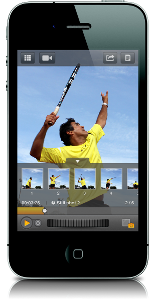 DARTFISH Express app for iOS Universal works together with the new My Dartfish Free and Premium.