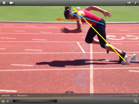 Add your sports expertise to Dartfish Express video with still shots ...
