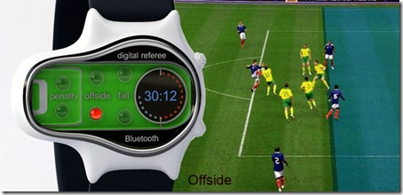 The digital referee for soccer is a 2012 sports technology innovation.