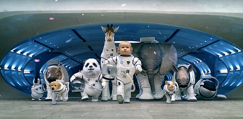 Kia 2014 Sorento Space Babies Big Game Ad