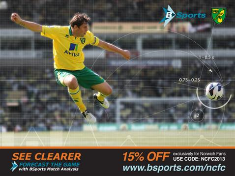 NCFC fans, see clearer, forecast the game, with BSports Match Analysis