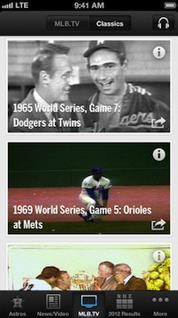 MLB.com At Bat Is Number One In The Blog - 10 IPHONE APPS TO HELP YOU TRACK YOUR FAVORITE TEAM'S STATS
