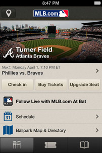 MLBAM, Experience Partner to Deliver Mobile Seat & Experience Upgrades
