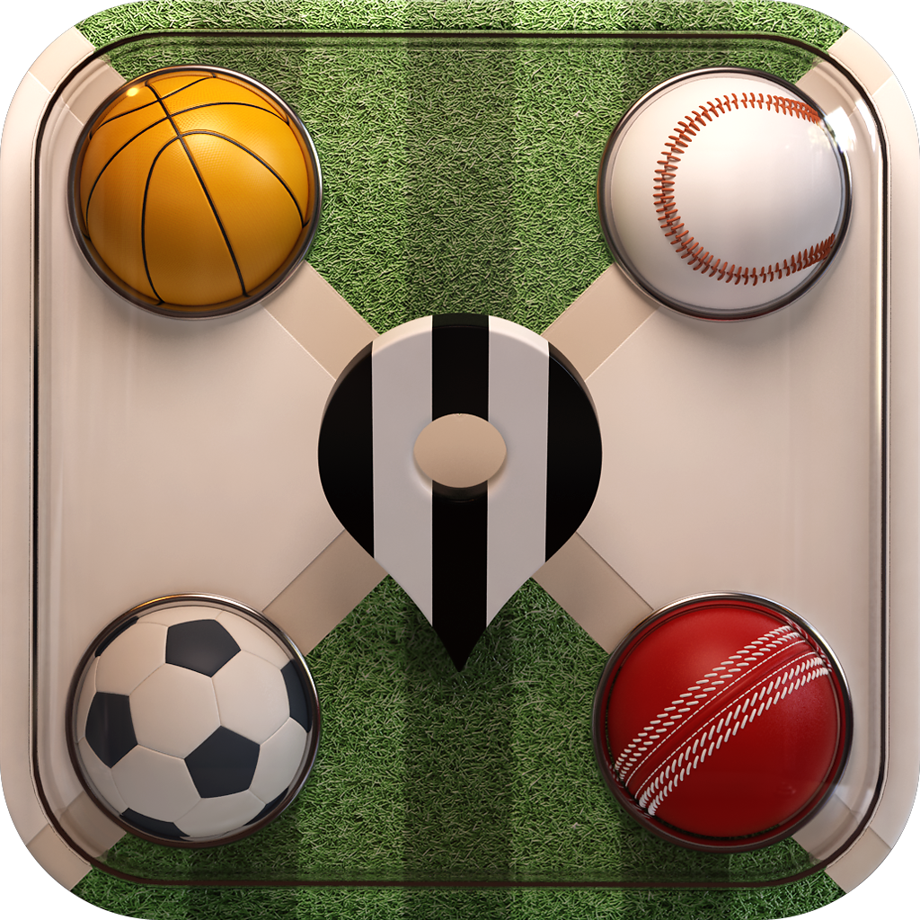 Sportsfans is a robust app that finds recreational sports events, team fan clubs and sports bars for the iPhone