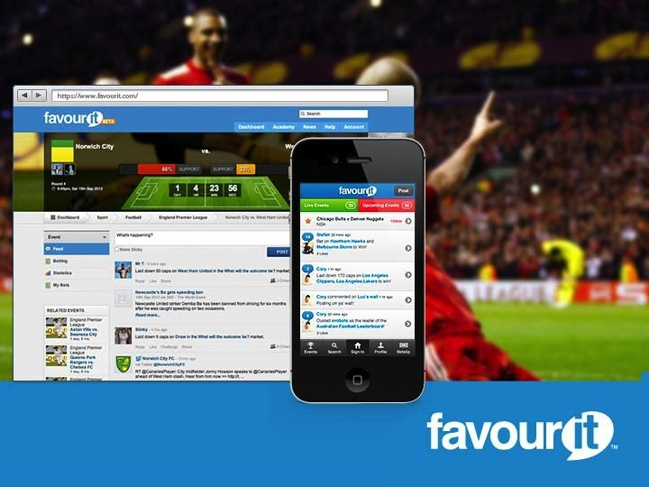 Favourit's platform integrates with betting operators in regulated markets including UK market leader Paddy Power and its Australian subsidiary, Sportsbet.com.au, as well as Luxbet, a part of the TABcorp Group