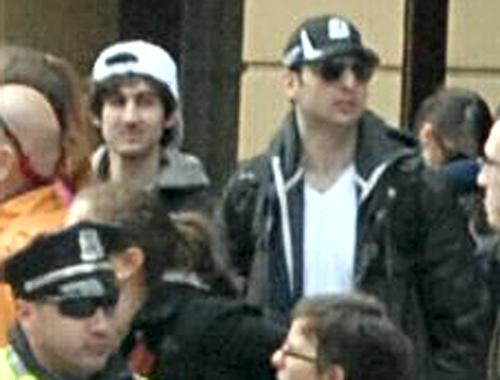 Tamerlan (Right) and Dzhokhar (Left) Tsarnaev were suspect #1 and #2 in the Boston Marathon bombings.