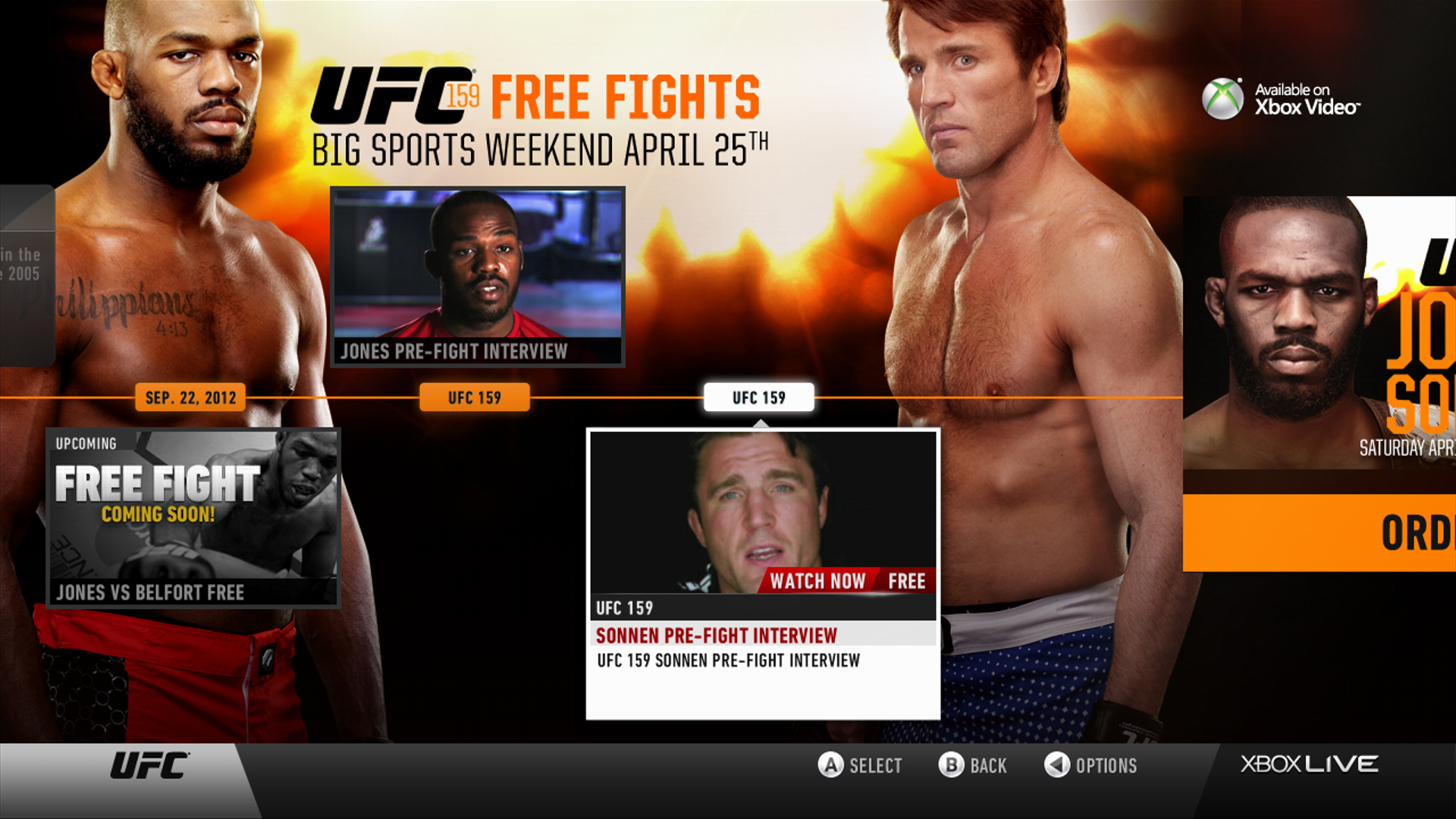 During Big Sports weekend all sports apps from April 25th-28th will be unlocked for both Free and Gold members in the US and Canada, including ESPN, UFC, MLB.TV, NBA Game Time, and NHL Game Center.