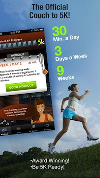 10 IPHONE APPS TO HELP YOU TRAIN FOR YOUR FIRST MARATHON - Couch to 5K