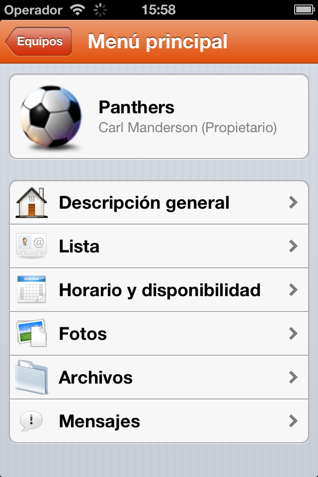 TeamSnap launched a new Spanish iOS app