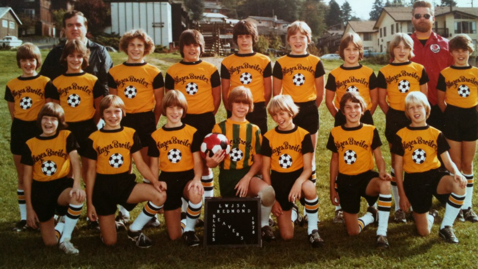 My Blazes Broilers Beavers 6th grade soccer team in Redmond, WA