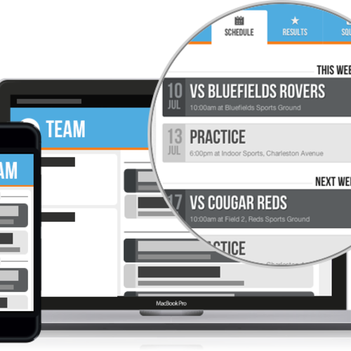 Bluefields service helps sports organizers create and automate all of the communication between amateur leagues, teams and players