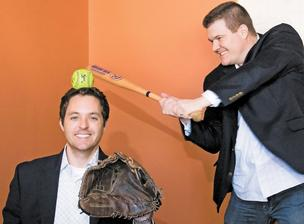 Digital Scout CEO Nathan Heerdt and V.P. Dan Fronczak and are both die hard Cleveland sports fans