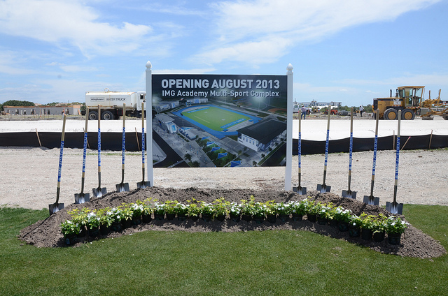 IMG Academy Opening August 2013