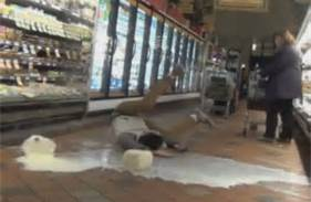 The Milk Gallon Prank is a dumb and dangerous game kids play