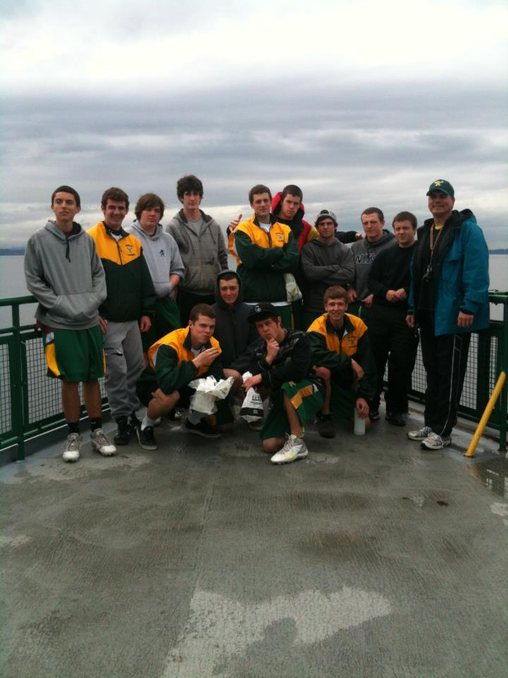 Redmond HS Lacrosse Club 2012 with Coach Bob Roble, aka, @THESportsTechie on twitter