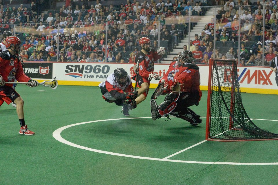 Washington Stealth defeat the Calgary Roughnecks to win the 2013 West Division Title