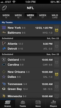10 iPhone Apps for Keeping Score of Your Favorite Game - Free Version of  Yahoo! Sportacular