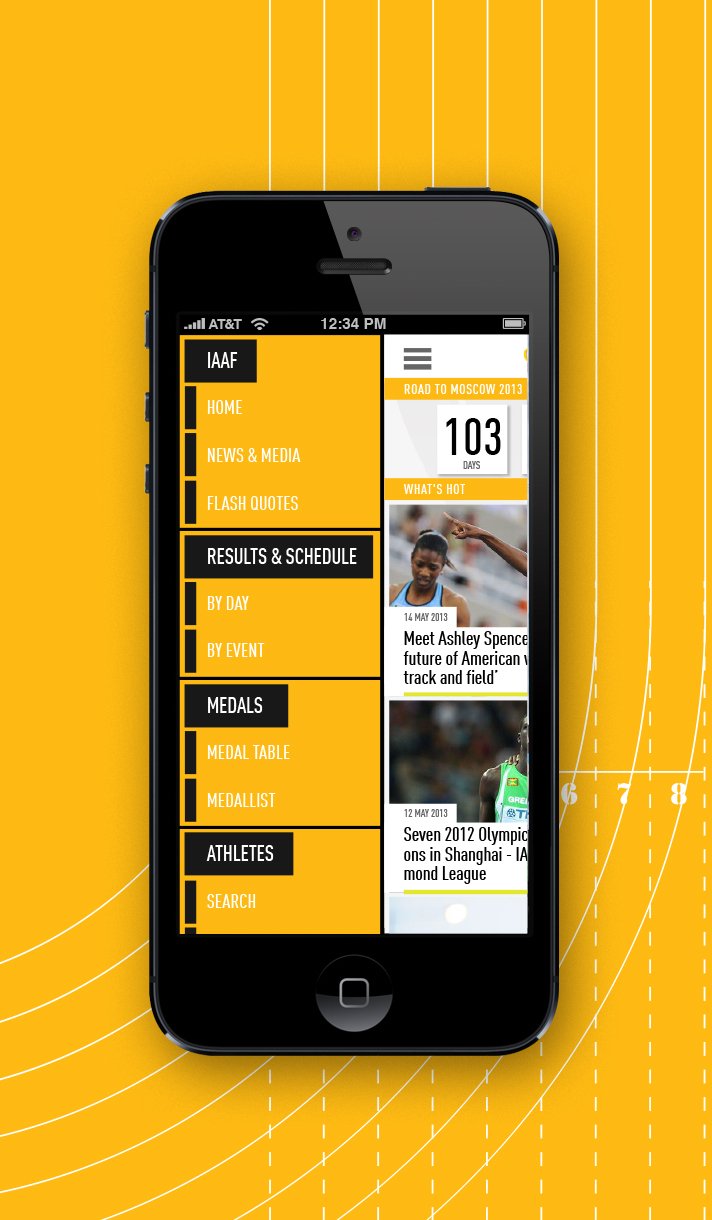 Deltatre delivers the IAAF Official Results and TV Graphics System and App for smartphones and tablets