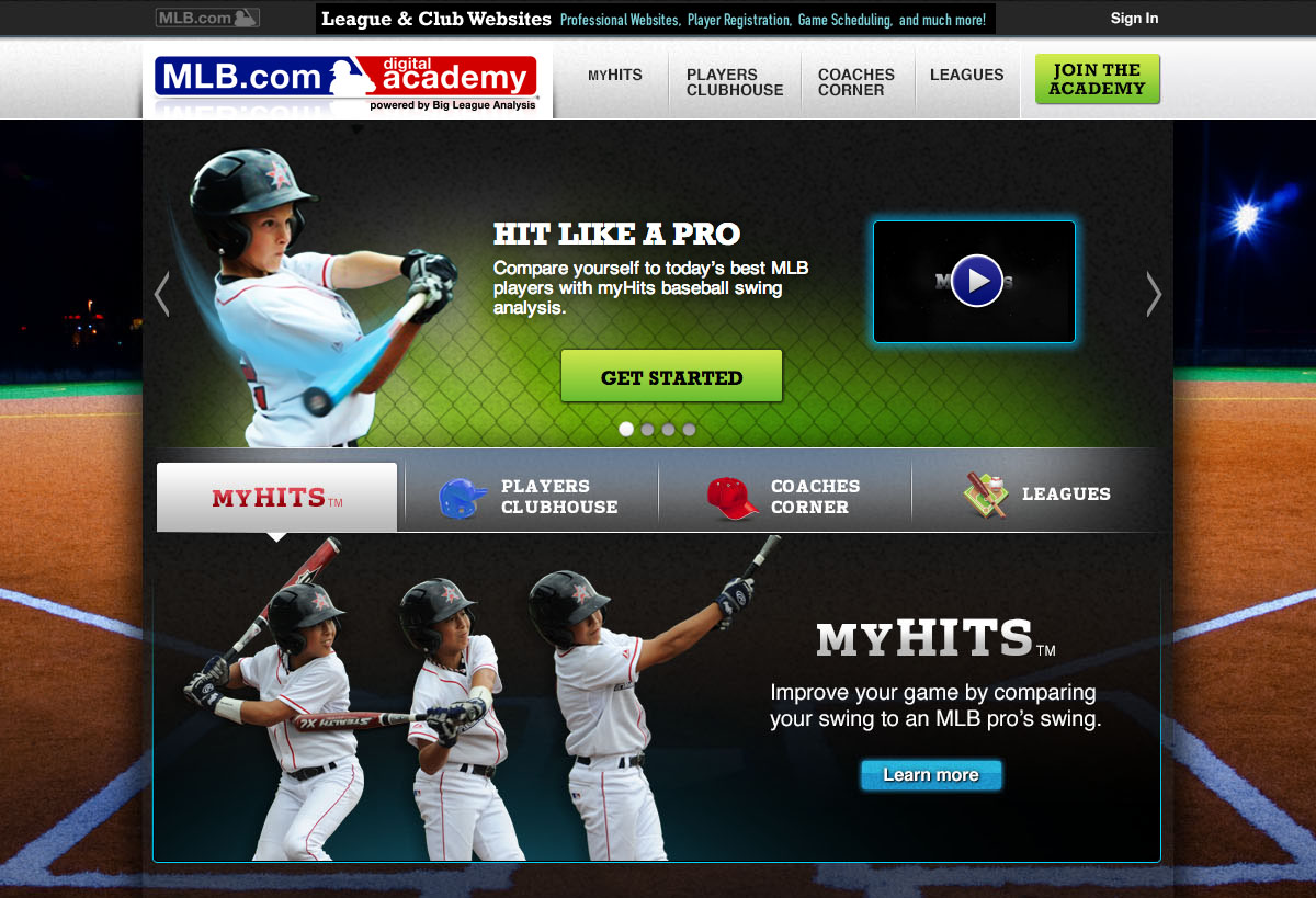 MLB.com Launches MLBAM and Big League Analysis, Digital Academy, to Connect with Youth Baseball