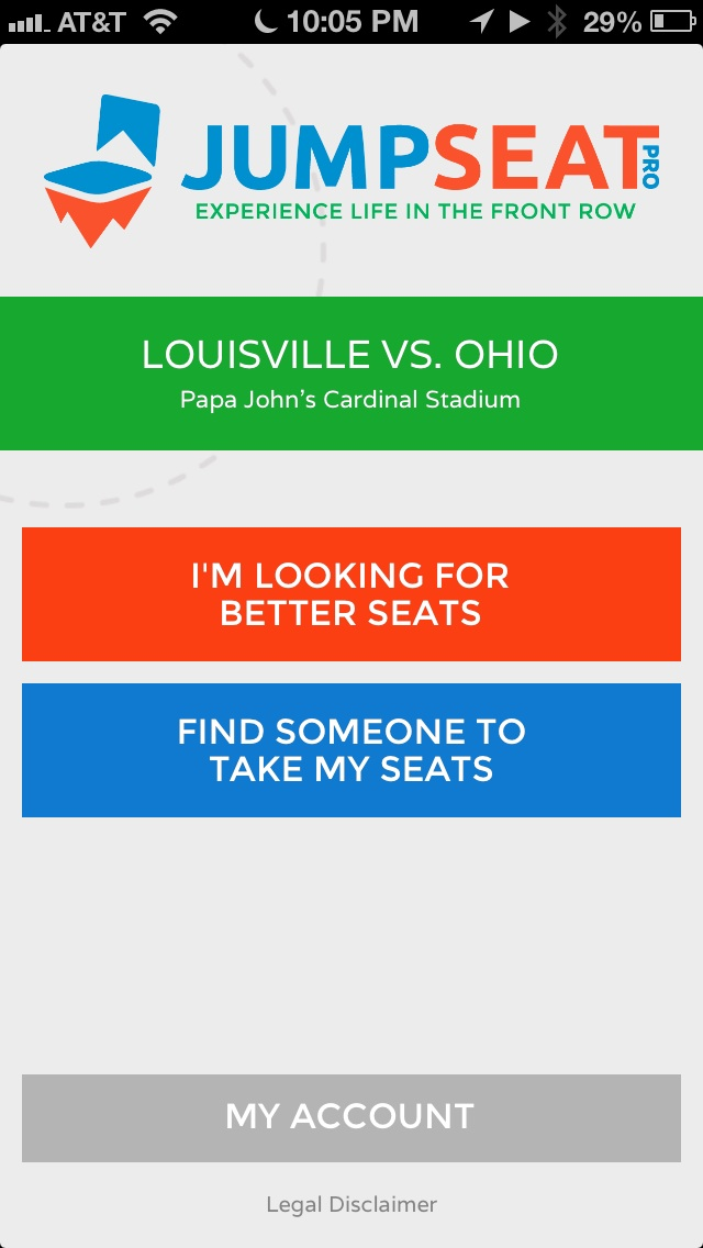 The New JumpSeat iOS App Gives Fans Wireless Ability To Exchange Seats at Events