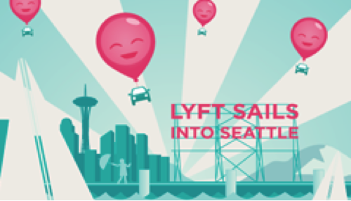 Lyft On Demand Ride Service Is In Seattle and Nationwide