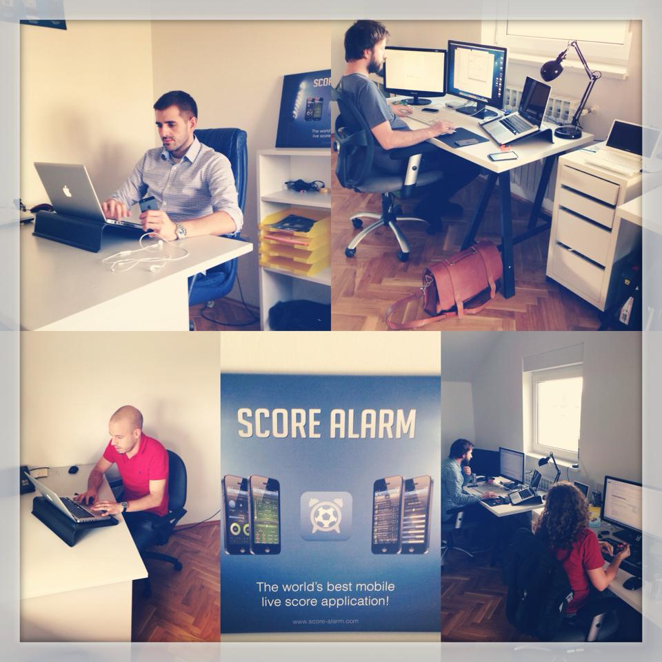 Score Alarm Team in Zagreb, Croatia