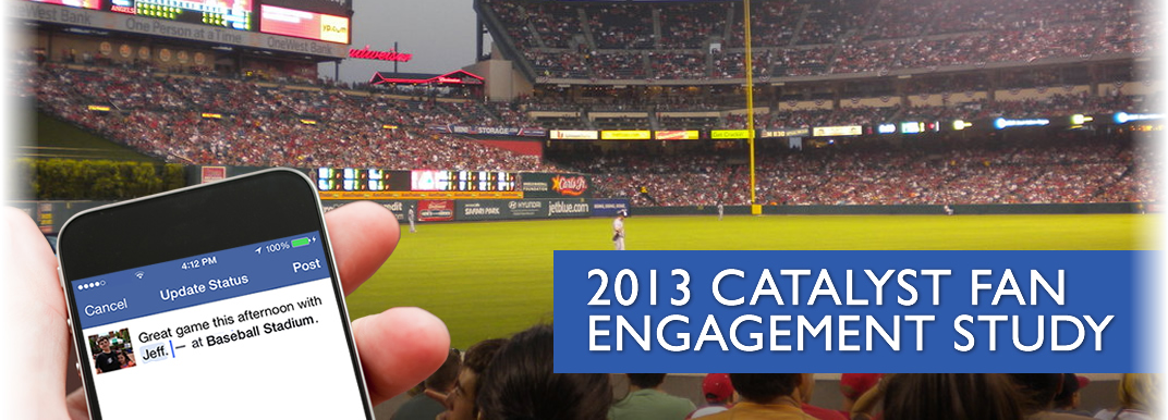 The fourth edition of the Catalyst, an IMG consulting company, Sports Fans Digital Media Habits Study, on behalf of SportsBusiness Journal, was released this week