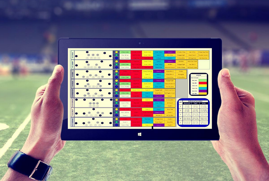 NFL Playbook. There's an app for that! by Sports Techie for iQ by Intel