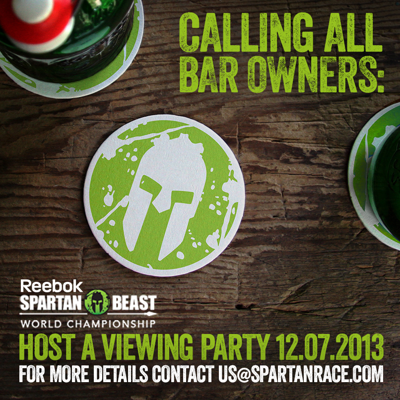 Be a Sports Techie bar that hosts the December 7th airing of the World Championship Spartan Race on NBC Sports