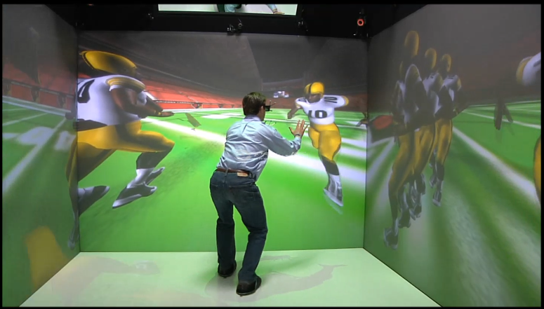 EON Sports VR SIDEKIQ Future of Football And Sports Training
