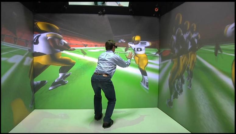 EON Sports VR SIDEKIQ Future of Football And Sports Training