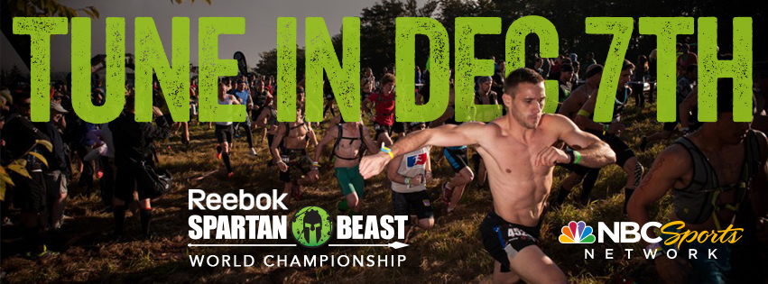 December 7th airing of the World Championship Spartan Race on NBC Sports Network