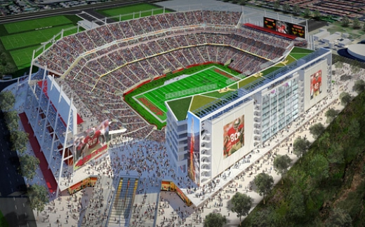 San Francisco 49ers new technologically  enhanced stadium will host Super Bowl 50 in 2016