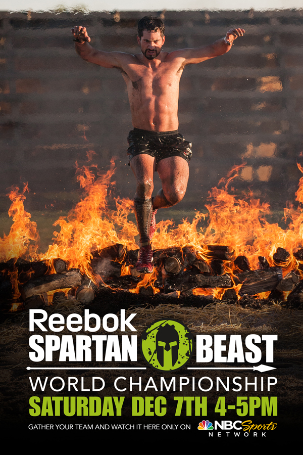 Watch the December 7th airing of the World Championship Spartan Race on NBC Sports