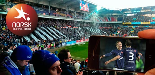 Norwegian Professional Football League first in the world to implement team Wi-Fi and mobile video, Photo and illustration: Thomas Torjusen - NPFL