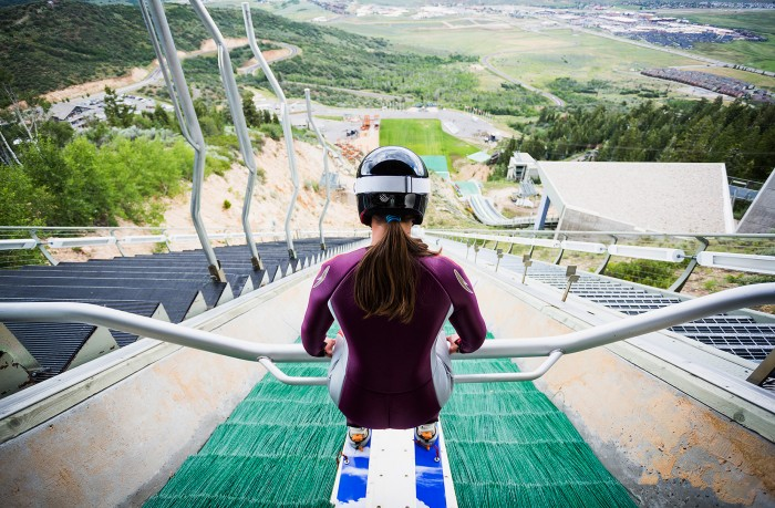 First-ever US Women's Ski Jumping Team Documents Training in Web Series REFUEL USA By Got Milk - ESPN image