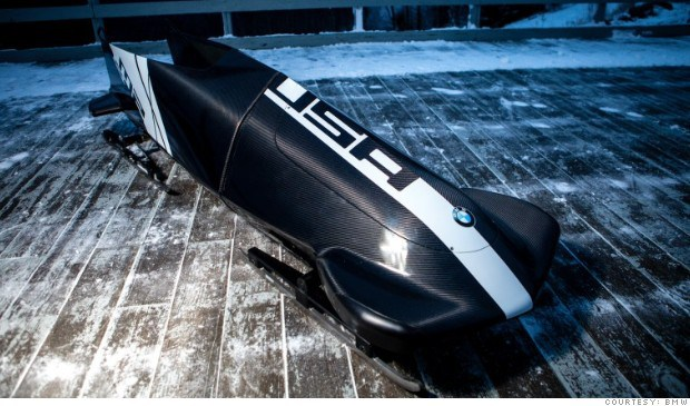 Team USA and BMW Bobsled for the Sochi 2014 Winter Olympic Games