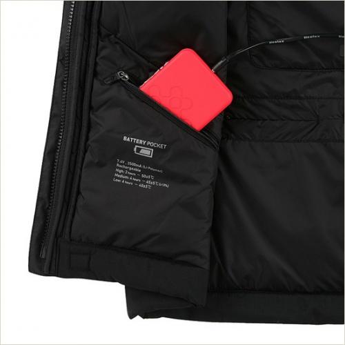Life Tech Jacket Battery Pocket via Kolon Sports