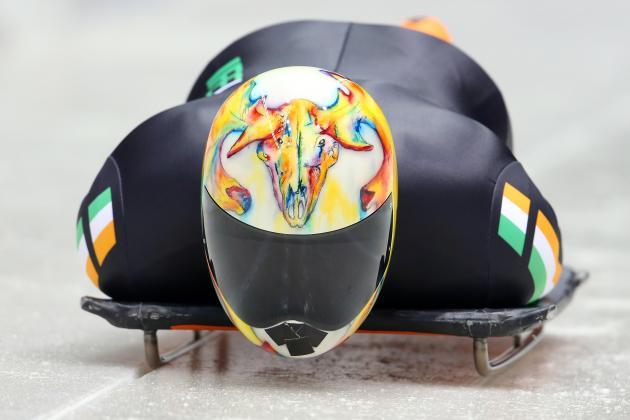 Skeleton helmets are ranked by Bleacher Report