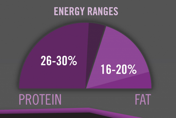 Purina Pro Plan Protein To Fat Ratios