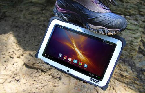 Rugged Tablets by Xplore Technologies helped track massive Sochi crowds, with Intel's i7 Core processor.