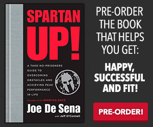 Spartan Up ! A New Life Strategy Book Written By Joe De Sena, Spartan Race Founder