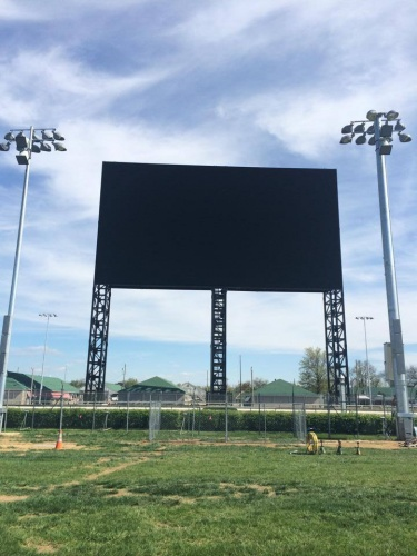 "The new ""Big Board"" installed by Panasonic at Churchill Downs, the historic home of the Kentucky Derby, will be the only video board in an outdoor stadium or arena capable of displaying the new and advanced 4K ultra-high definition technology"