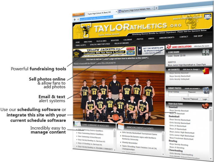 BigTeams High School Athletic Websites And Software Company Raises Funds, Hires CEO Clay Walker - Sports Techie blog