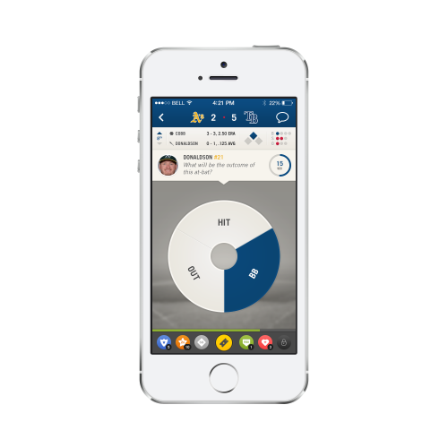 Every day, fans make thousands of sports predictions and chat messages on their platform and spend hours on end enjoying the unique PrePlay experience http://get.mlb.preplaysports.com/