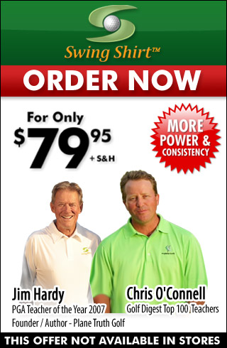 This innovative golfing shirt is like having a personal swing coach every time you practice or play because it helps you to hit longer and straighter shots & feel the perfect swing – every time, by adding 15 yards in 15 days guaranteed.