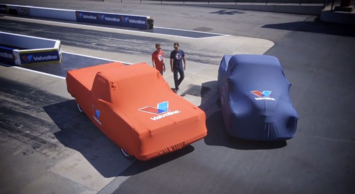 The Sports Techie community blog takes a look at the Valvoline Reinvention Project trucks for our readers with a behind the scene video